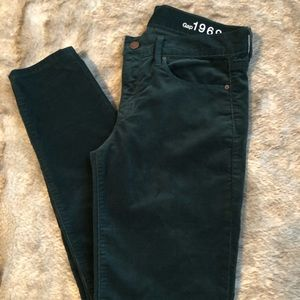 Gap corduroy always skinny pants.